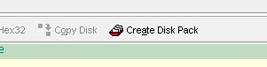 Z80Emu Disk Pack Create Button
